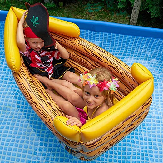 LX inflatable toys Verano Barco Pirata Inflable Niños ...