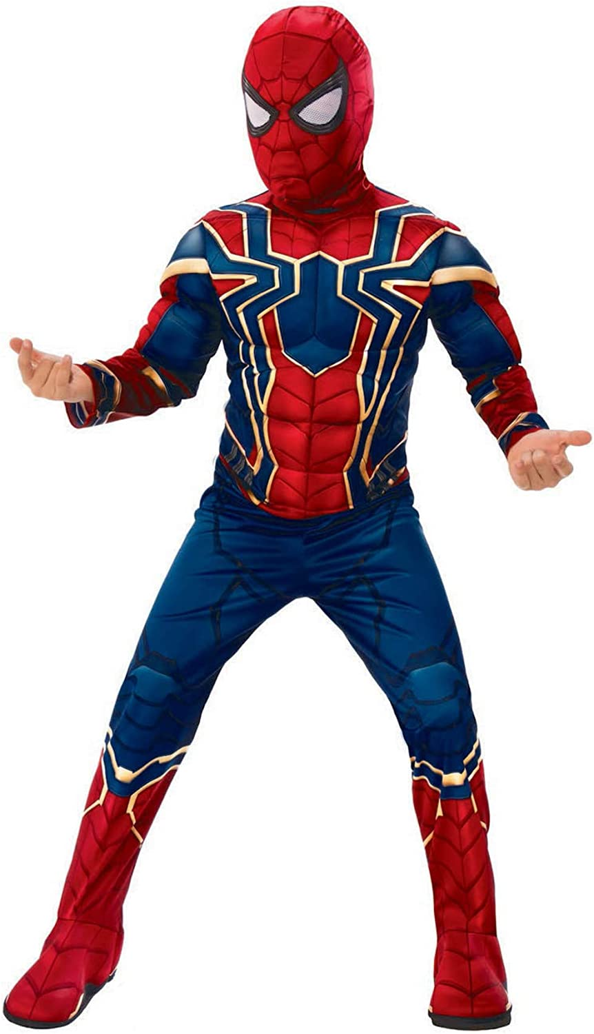 Official Avengers Infinity Wars Iron Spider Spiderman Classic Child Costume