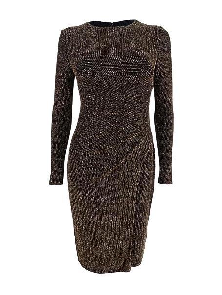 Siguiente Camiseta sin mangas para mujer de oro y negro metálico Talla 8,12,14