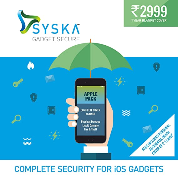 Syska Gadget Secure Complete Protection Plan with Theft
