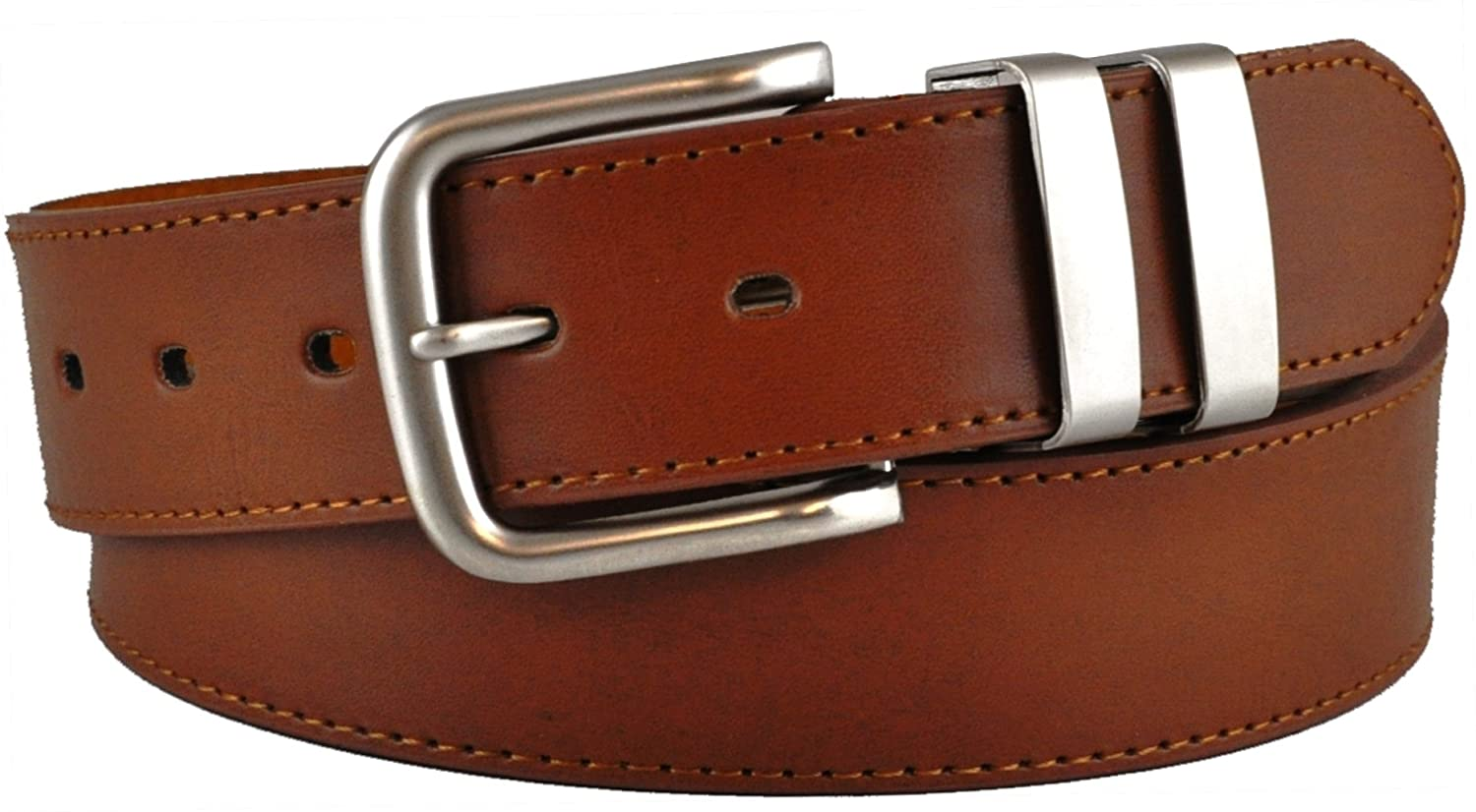 Mens Ossi Leather Lined Belt with Double Loop # 5056