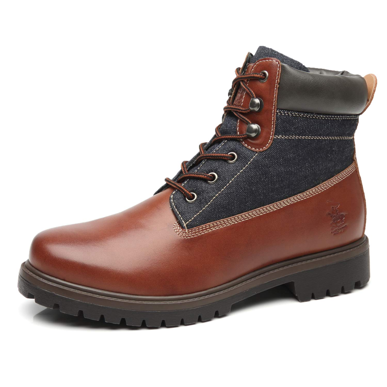 shop get new online for sale Beverly Hills Polo Club Men's Snow Winter Lace Up Boots Casual Comfortable  Dress Boots for Men