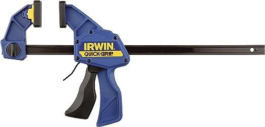 Azul 150 mm Set de 2 Piezas 15,24 cm Quick-Grip Irwin 5062QC Juego de 2 sargentos semiautom/áticos