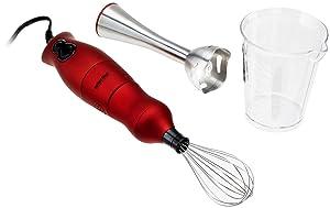 Better Chef Dual Blender Mixer, Red