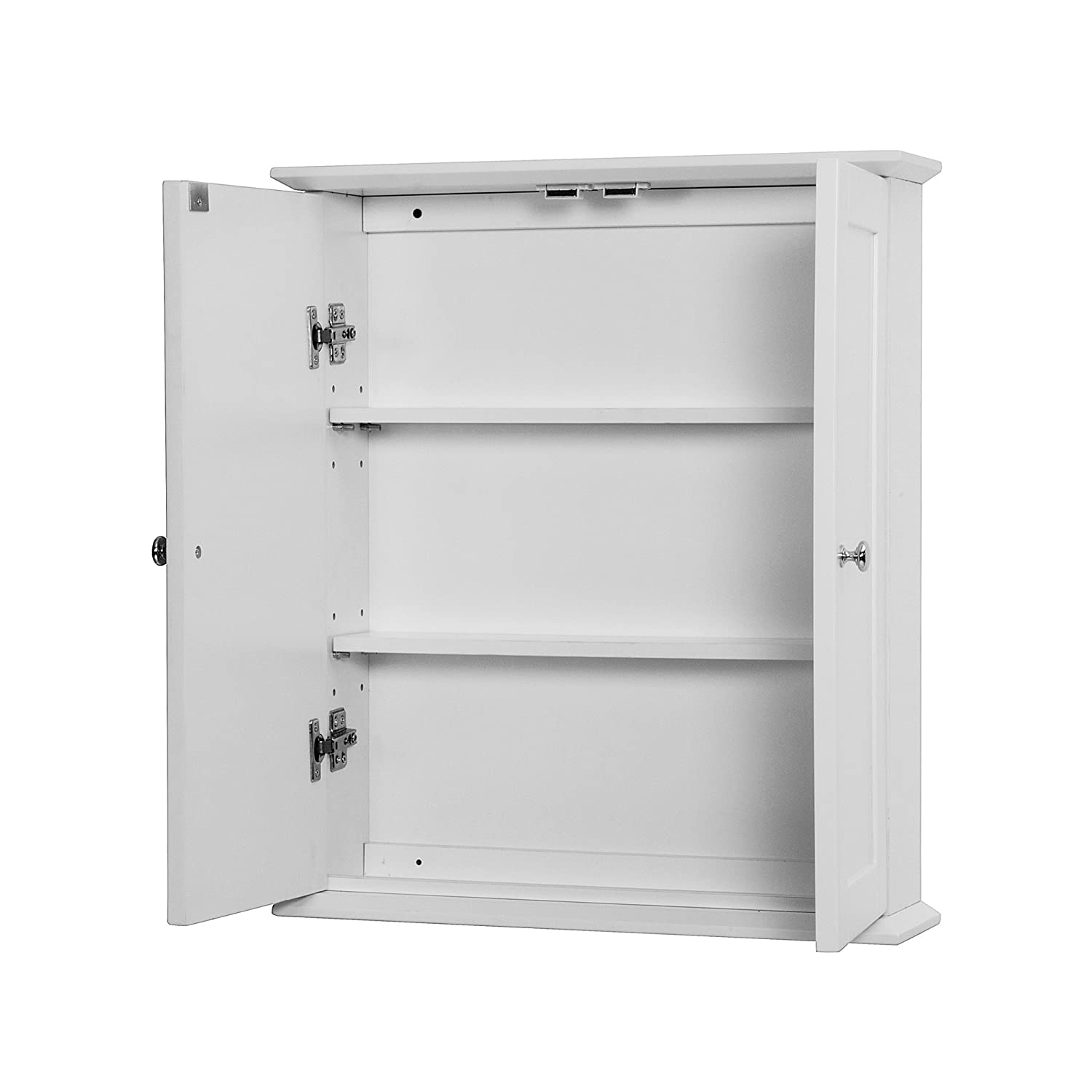 Bathroom wall cabinet white - Amazon Com Foremost Coww2125 Columbia White Bathroom Wall Cabinet Foremost Groups Home Improvement