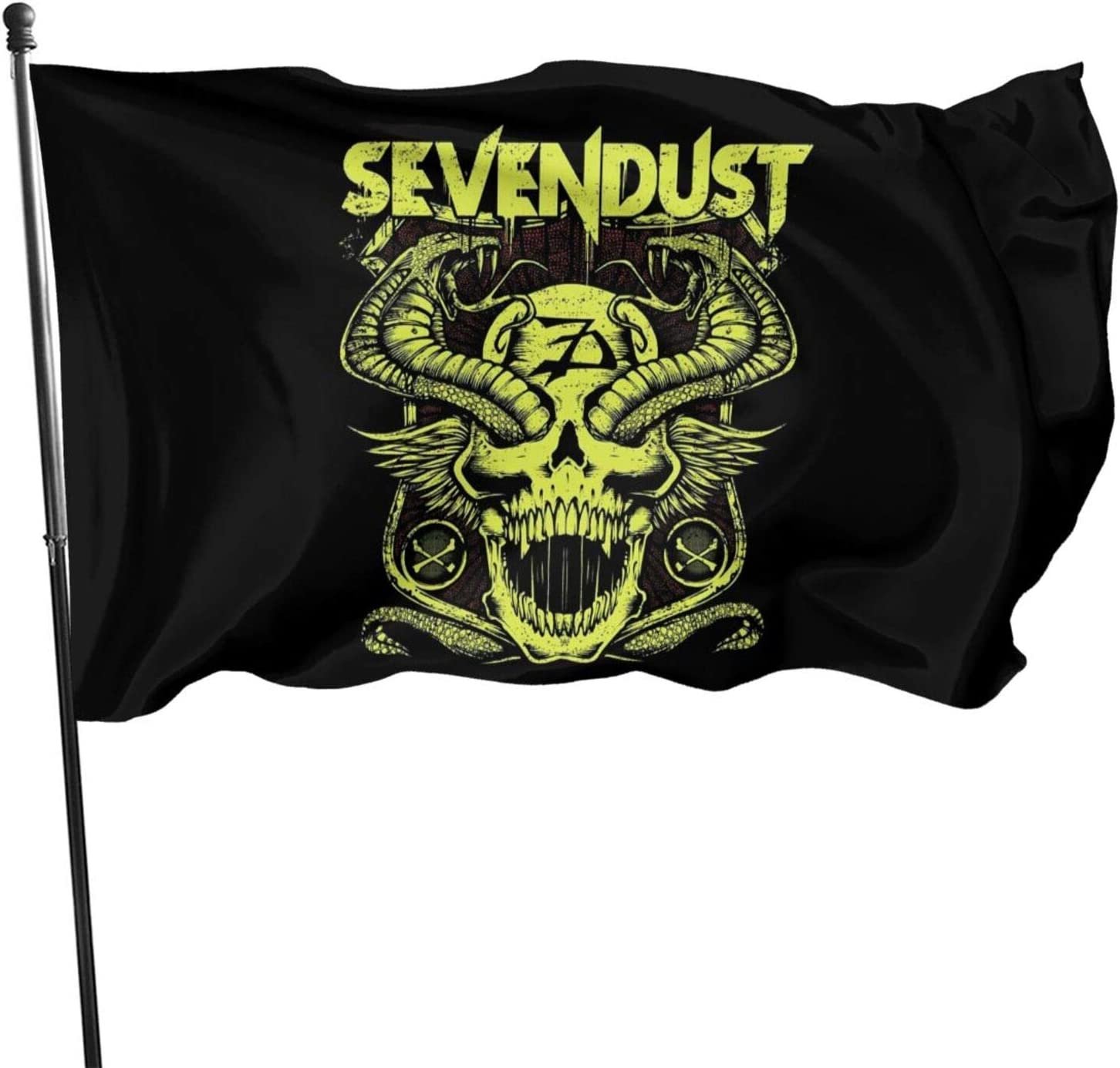 Fdivfdac Sevendust Garden Flag Spring and Summer Yard Outdoor Decoration Flags 3x5 Ft