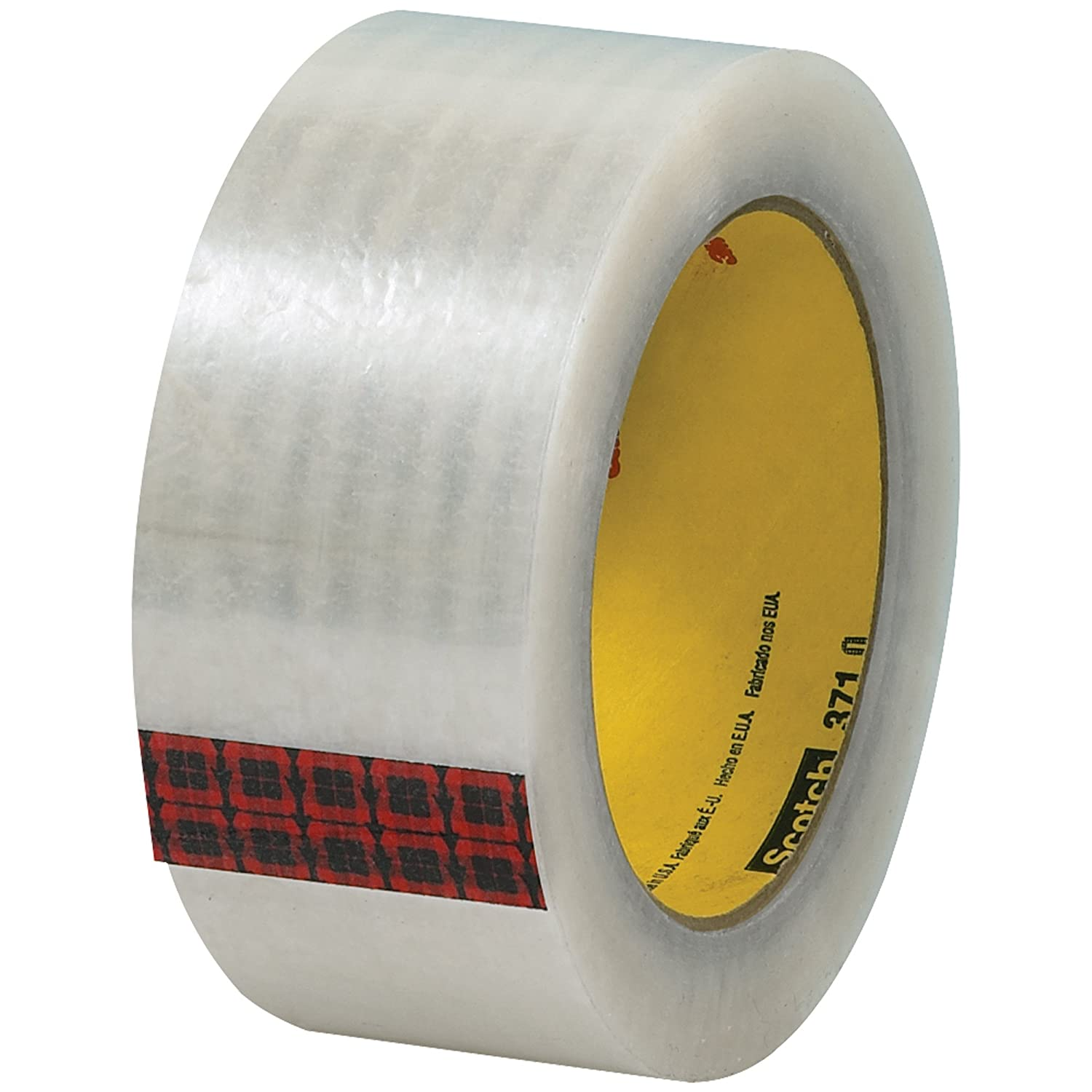 Scotch Carton Sealing Tape Clear Pack of 6 2 x 110 yd T9023716PK