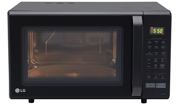 lg 28 l convection microwave oven mc2846bv black amazon in home rh amazon in lg convection microwave oven recipes pdf lg convection microwave oven price