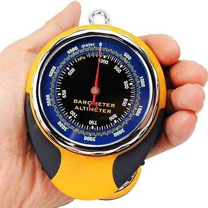 Thermomètre Baromètre Altimètre Numérique 8 En 1 Pour Randonnée Escalade Sport