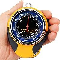 Altimètre numérique multifonctions pour camping avec historique de l'altitude, baromètre, boussole, thermomètre, prévisions météo