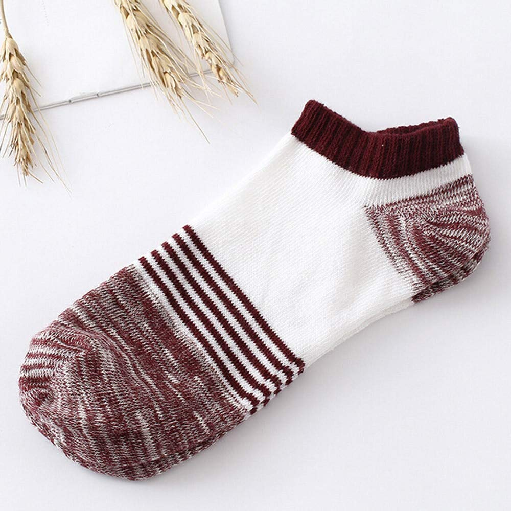 Amazon.com: SaveStore Cute Lady Socks Unisex Fashion Cotton New Short Socks Women Striped Low Cut Ankle Comfortable Socks meias: Kitchen & Dining