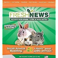 Fresh News Paper Small Animal Bedding, 10,000-Cubic Centimeter, Gray