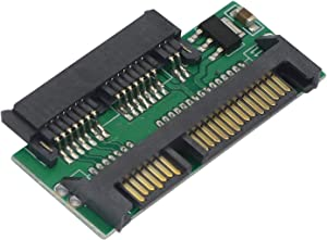 "1.8"" SSD Micro SATA to 2.5"" Hard Disk Adapter Card Micro SATA 16 Pin Female to SATA 22 Pin Male Laptop Notebook Adapter PCB"