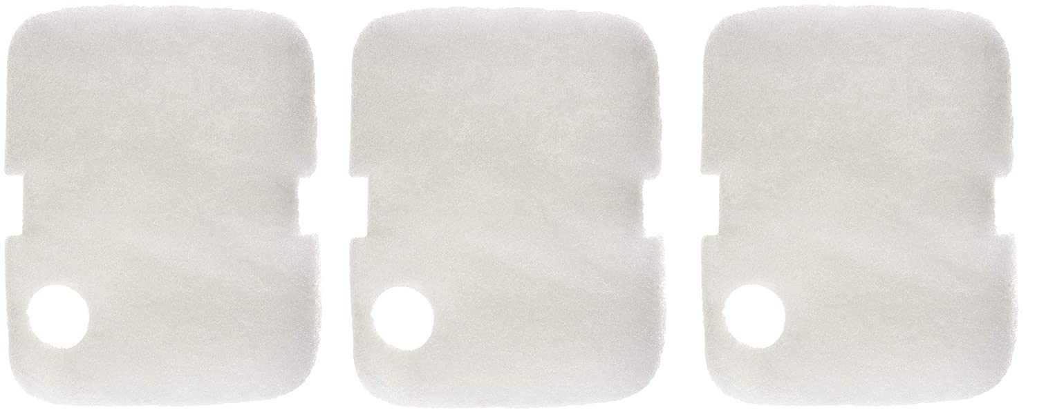 Penn Plax Cascade 700 1000 GPH Floss Pads Filter Pad Keeps Your Aquarium Clean and Clear 6 Pack ((Set) of 3)