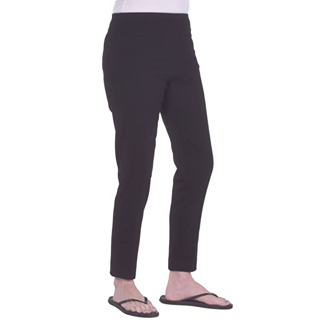ef9ee718f9 Krazy Larry Women's Pull-On Ankle Pants