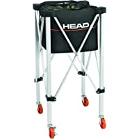 HEAD - Carrito de Tenis para Entrenamiento y práctica con Capacidad para 120 Pelotas