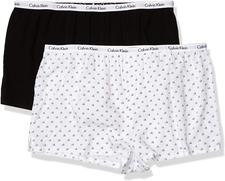 Calvin Klein Women's Carousel Sleep Short 2 Pack
