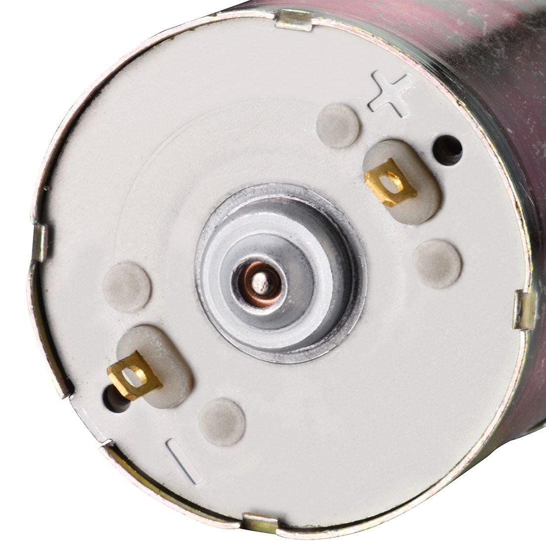 DC 24V 1000PM Micro moteur r/éducteur /électrique vitesse arbre sortie bo/îte vitesses