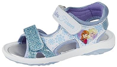 Girls Kids Disney Frozen Summer Sandals EU 27  Amazon.co.uk  Shoes ... d1f7614096d