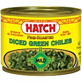 Hatch Mild Diced Green Chilies, 4 oz