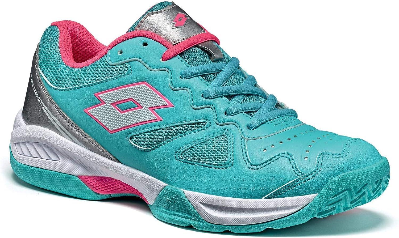 Lotto Superrapida 400 W, Zapatillas de Tenis para Mujer, Verde ...