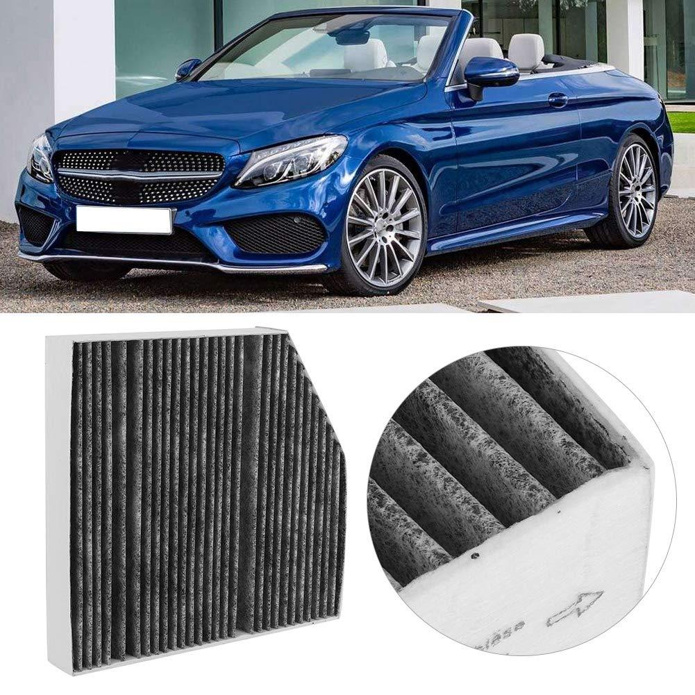 Duokon Car Interior Air Filter Activated Carbon Cloth Engine Air Filter Replacement for C160 C180 C200