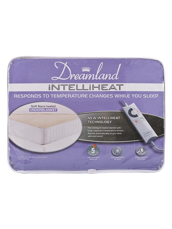 Dreamland Intelliheat aborregado manta [tamaño cama - doble ...
