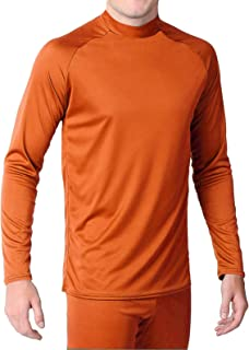 product image for WSI Microtech Form Fit Long Sleeve Shirt, Orange, Large