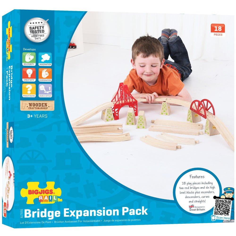 Bigjigs Rail BJT055 Bridge Expansion Set