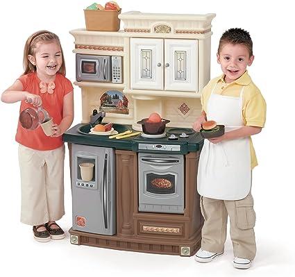 Amazon.com: Step2 LifeStyle New Traditions Kitchen Set: Toys ...