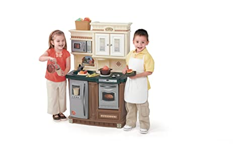 Amazon Com Step2 Lifestyle New Traditions Kitchen Set Toys Games