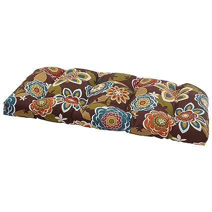 Amazon Com Outdoor Bench Cushion Indoor Patio Swing Comfortable