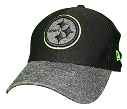 Image Unavailable. Image not available for. Color  New Era Pittsburgh  Steelers NFL 39THIRTY Popped Shadow Flex Fit Hat ... e646afa72