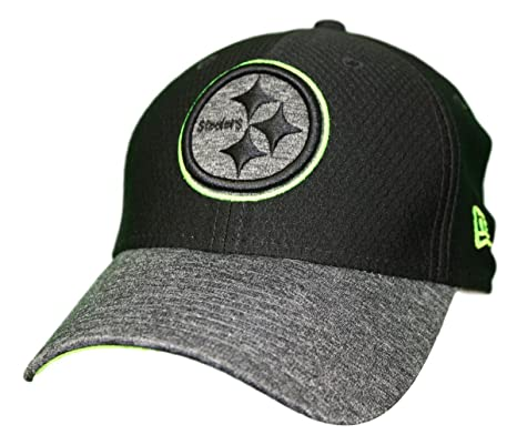 97efa985 Amazon.com : New Era Pittsburgh Steelers NFL 39THIRTY Popped Shadow ...