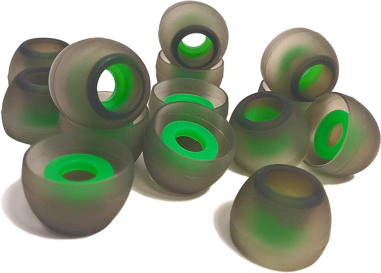 Almohadillas de Silicona para Inear Auriculares Reduce el Ruido /& Mejora Sonido , White M Medio TCM Almohadillas Auriculares Silicona 7 Pares 14 pcs
