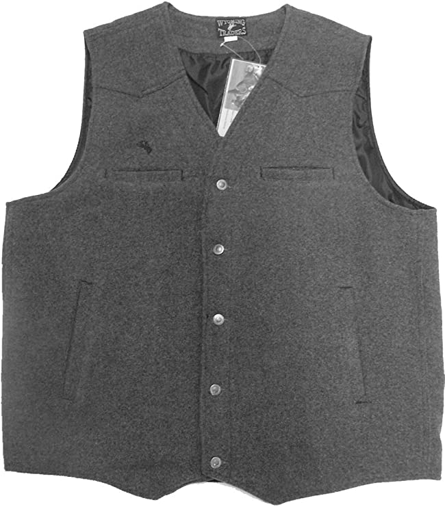 1920s Style Mens Vests Wyoming Traders Mens Wool Vest $68.00 AT vintagedancer.com