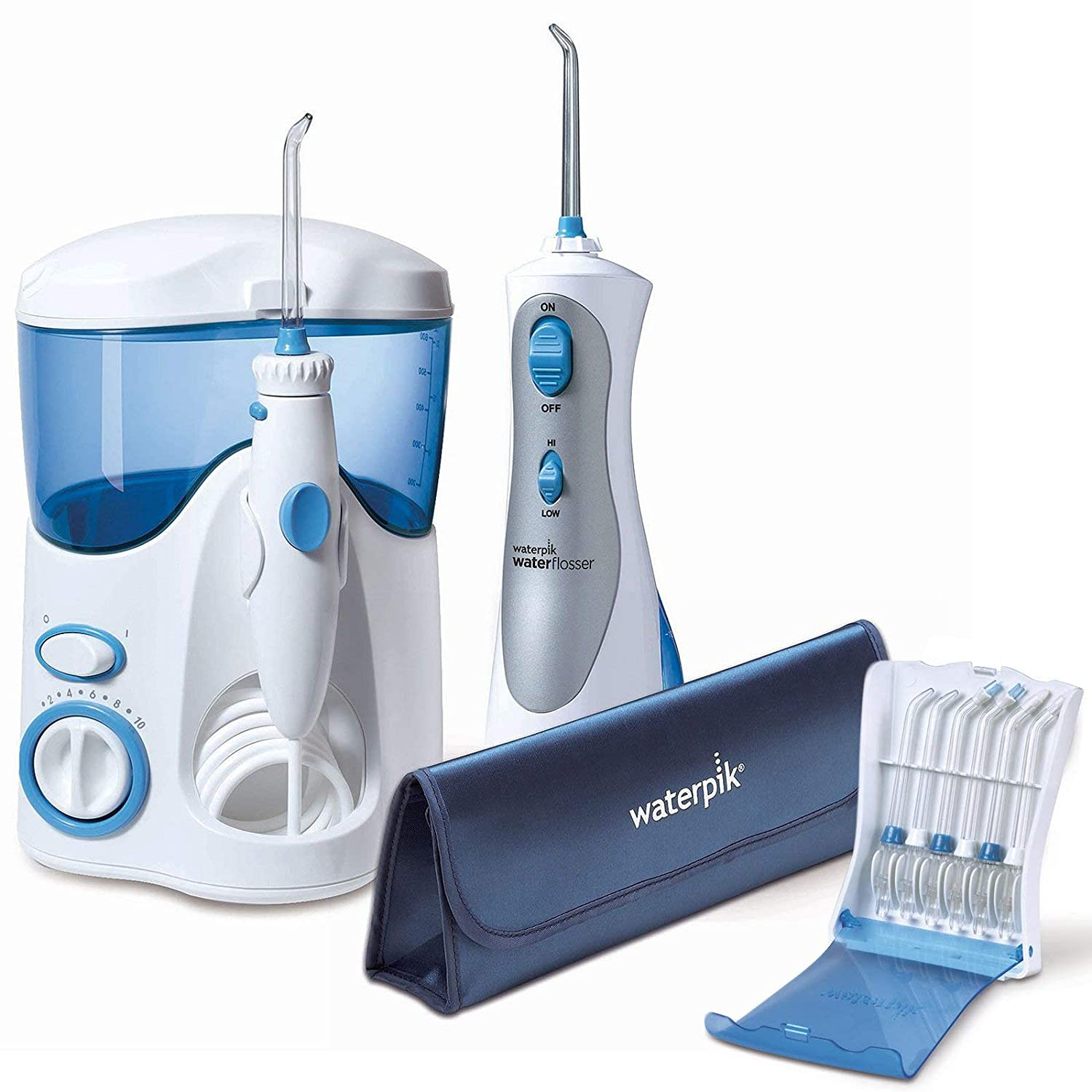Waterpik Ultra and Cordless Plus Water Flosser Bundle