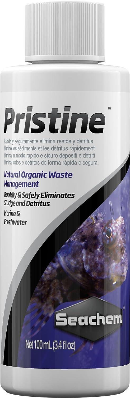 Seachem Pristine Biocondizionatore líquido para el Mantenimiento de acuarios de Agua Dulce y Marina - Paquete de 25 x 100 ml: Amazon.es: Productos para ...