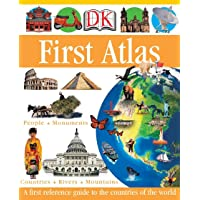 DK First Atlas: A First Reference Guide to the Countries of the World (DK First Reference)