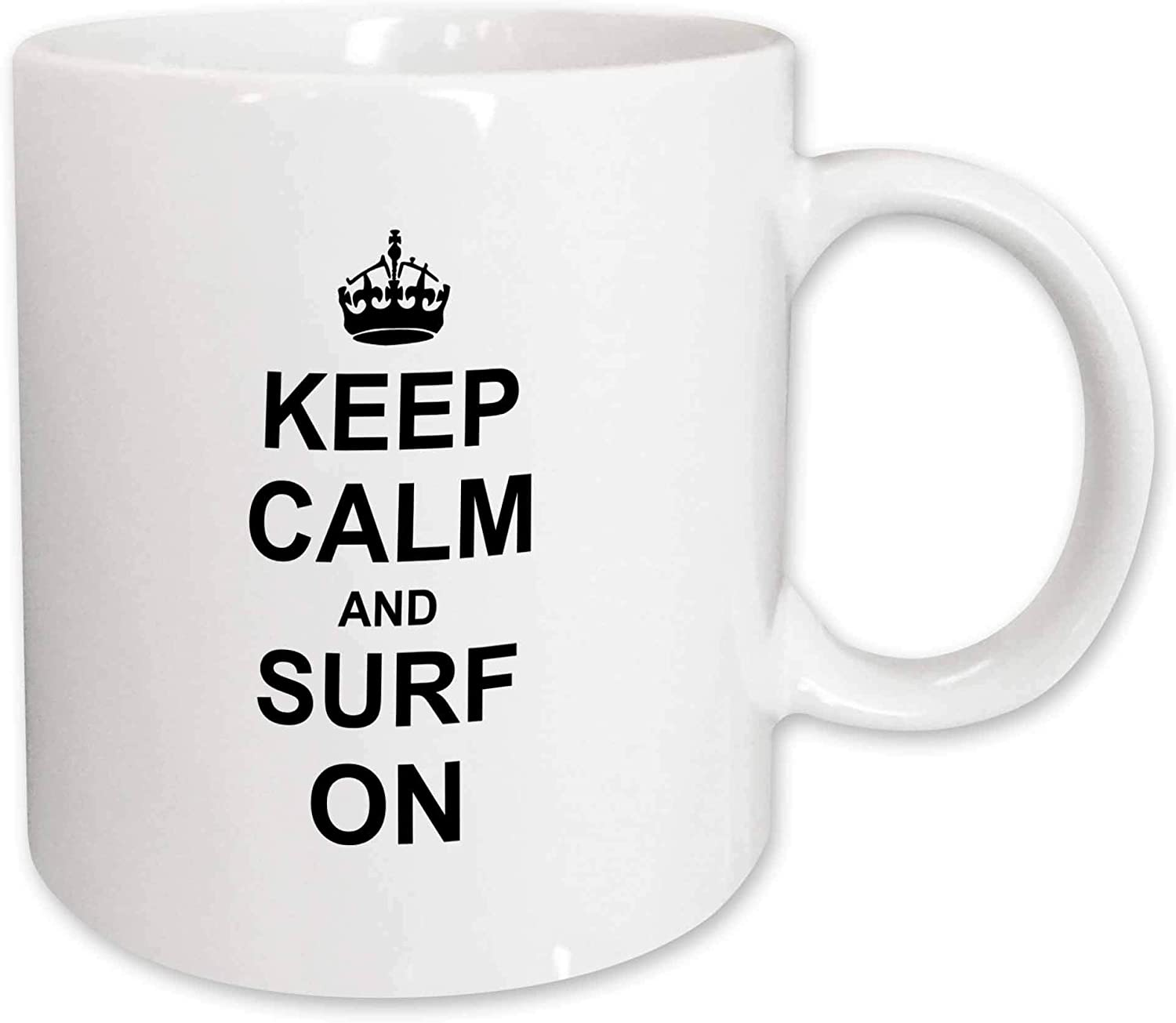CARRY ON SURFING KEEP CALM AND CARRY ON Novelty Mug Gift Cup Retro Present