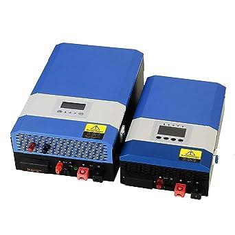 Tumo-Int 3000W DC 24V a AC 220/240V Cargador Inversor de ...