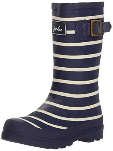 Joules Boy'S Junior Field Welly Navy Multi AF_6431