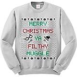 Merry Christmas Ya Filthy MUG Ugly Sweater LONG SLEEVE sweatshirt jumper Funny Printed Sweatshirts, Jumpers, sweaters