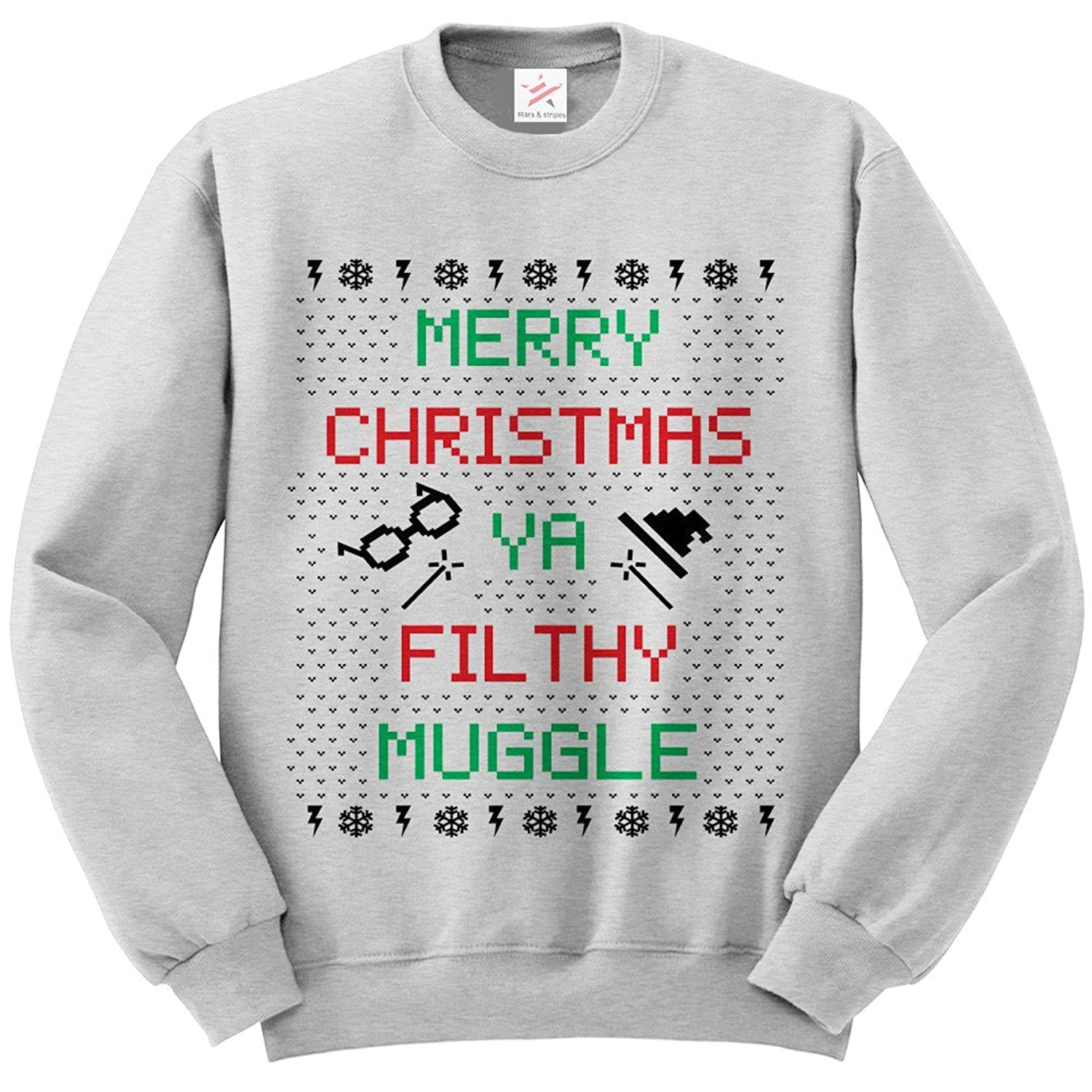 Merry Christmas Ya Filthy MUG Ugly Sweater LONG SLEEVE sweatshirt ...