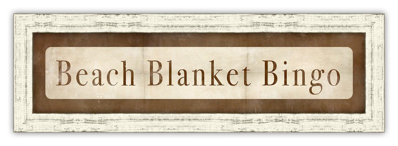 Melissa Van Hise IP24616 Beach Blanket Bingo Wall Decor by Melissa Van Hise