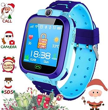 Winnes Reloj Smart para niños Teléfono, LBS Localizador Smartwatch ...