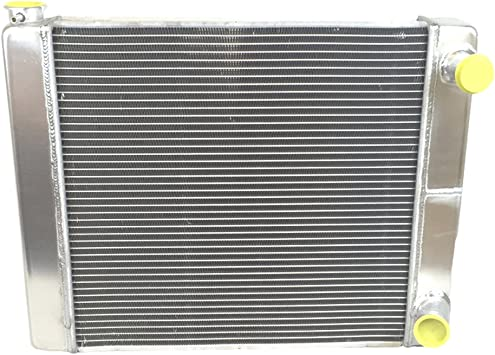 "Ford Mopar Racing Aluminum Radiator 2 Row Double Pass Overall 22/"" x19/"" x3/"""