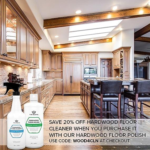 Amazon Trinova Hardwood Floor Polish And Restorer High Gloss