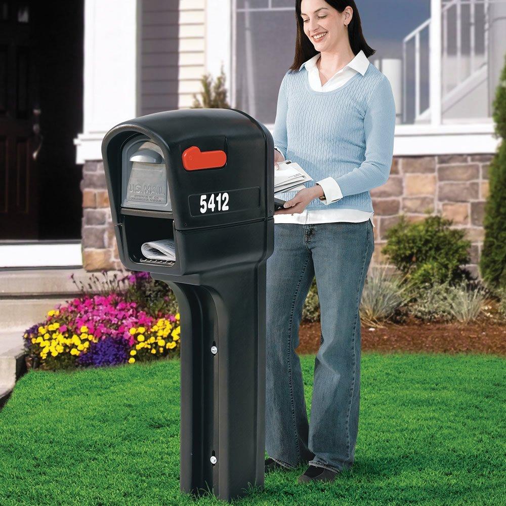 Black Step 2 Step2 541200 MailMaster Plus Mailbox