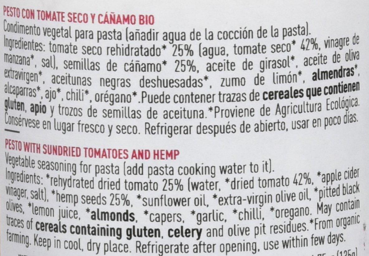 Holoslife Pestos - 6 Paquetes de 140 gr - Total: 840 gr: Amazon.es: Alimentación y bebidas